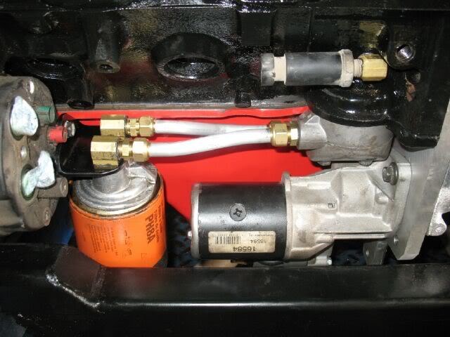 Oil cooler prototype OilFilterRelocation13