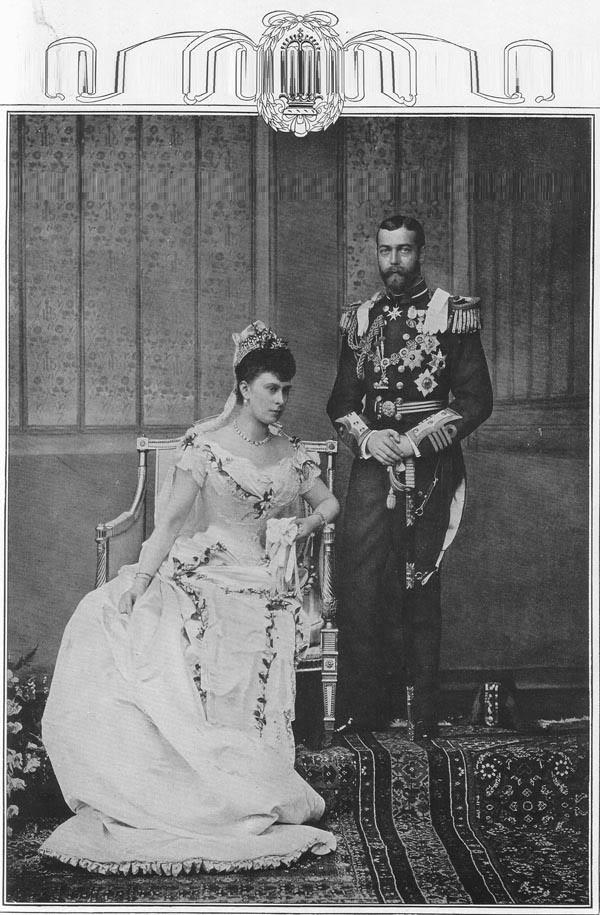 Mary, Princesa de Teck y George V. JorgeV-maryteck