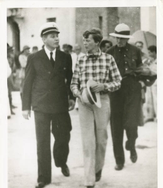 Amelia Earhart em Fortaleza... Amel