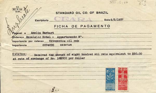 Amelia Earhart em Fortaleza... Dec-2