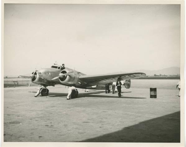 Amelia Earhart em Fortaleza... Deceletra