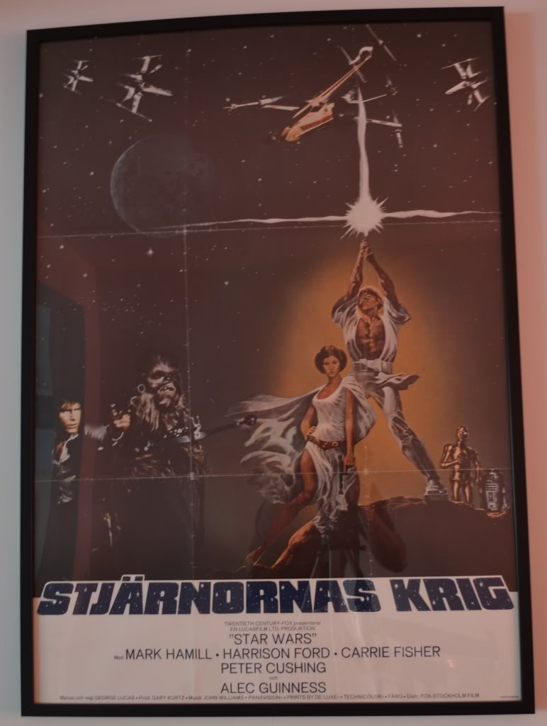 Does anybody collect or own any Original Vintage Star Wars One Sheets / Quads (Movie Posters) ? Swesw1