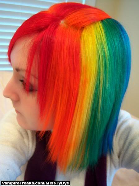 [Cheveux] Cheveux rainbow 30036871
