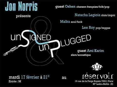 Unsigned & Unplugged Nouveauflyer_usup_WEB_21