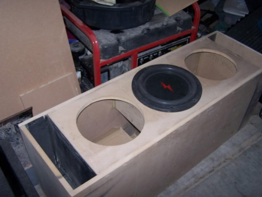 Car audio. Wooferenclosures011