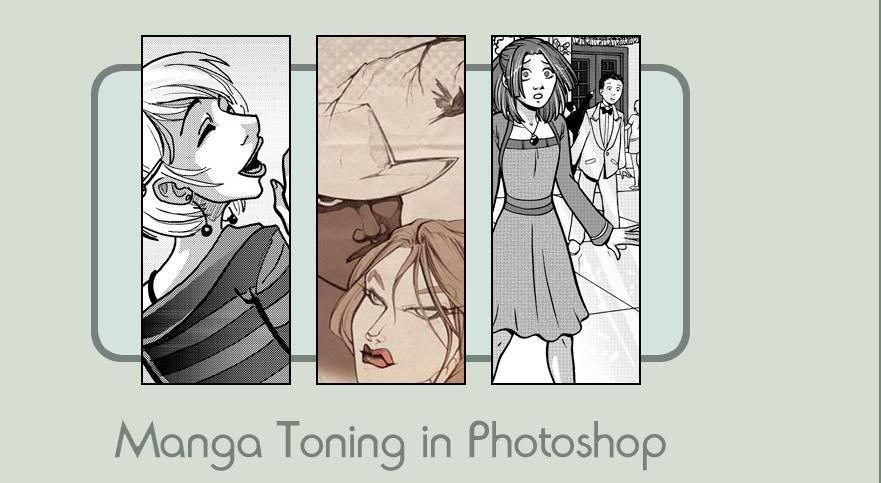 Como hacer tramados manga en Photoshop Mangatonin1