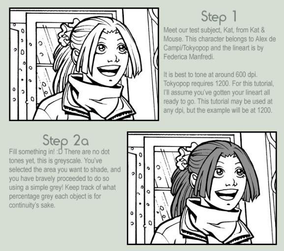 Como hacer tramados manga en Photoshop Mangatonin3