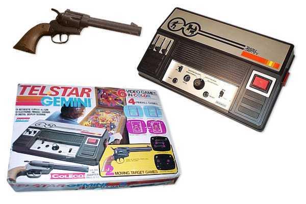 Historia de los videojuegos y las consolas Colecotelstargemini