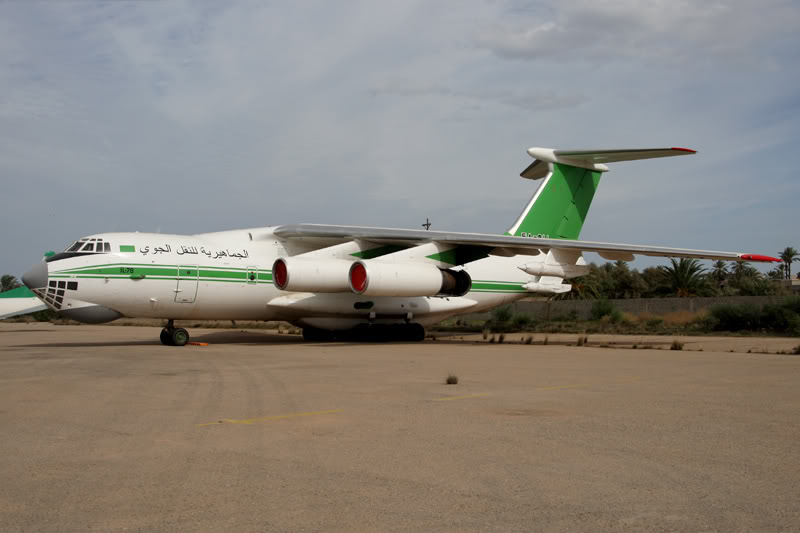 الجيش الليبي LibyaOct29-3107Il-785A-DLL