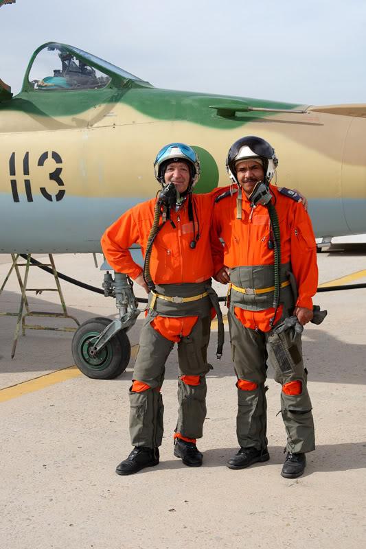 الجيش الليبي LibyaOct29-3107MiG-21UMpilots