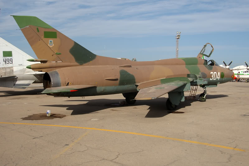 الجيش الليبي LibyaOct29-3107Su-22M3