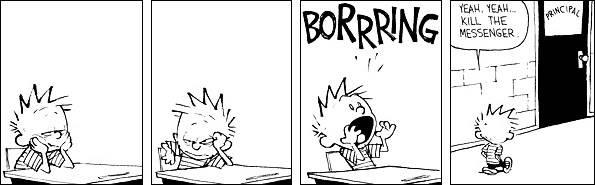 "Episode 1- ""heh-heh"" Borrring"