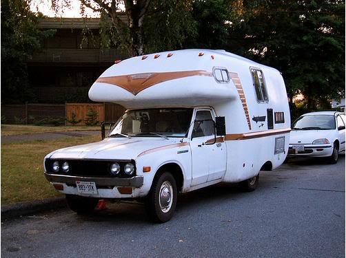 Colim Concept : A Cool Combination of A Car and A Caravan Camper Datsun_camper