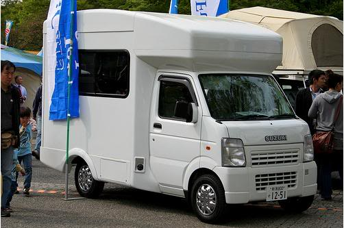 Colim Concept : A Cool Combination of A Car and A Caravan Camper Suzuki_camper