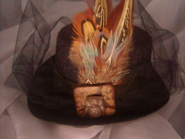 Fascinating Mini Top Hat Fascinators 100_5219