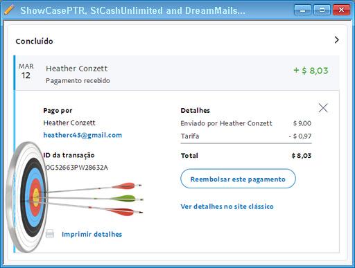 PapaiMark recebe pagamentos de DreamMails TriploX