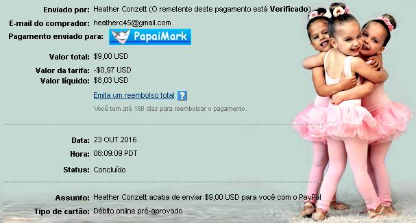 PapaiMark recebe pagamentos de DreamMails C2