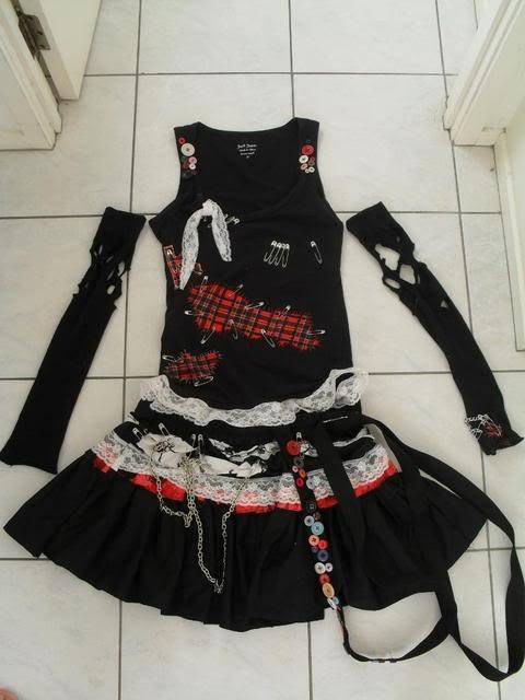 [Seller] Misa, Lenalee and Lightning costumes for sale (made by me) SDC10226