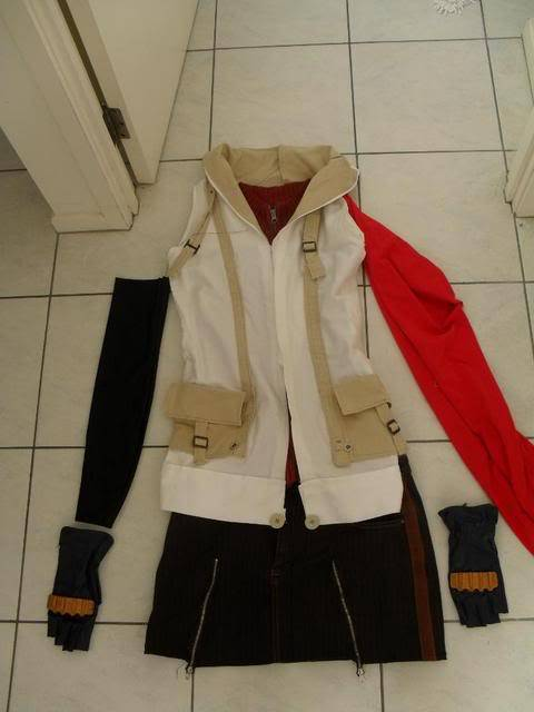 [Seller] Misa, Lenalee and Lightning costumes for sale (made by me) SDC10227