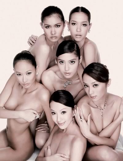 Các siêu mẫu Đài Loan ko cần mặc quần áo 02