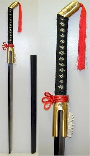 Proposte di armi e tecniche per Oto BleachKisukeUraharaSword
