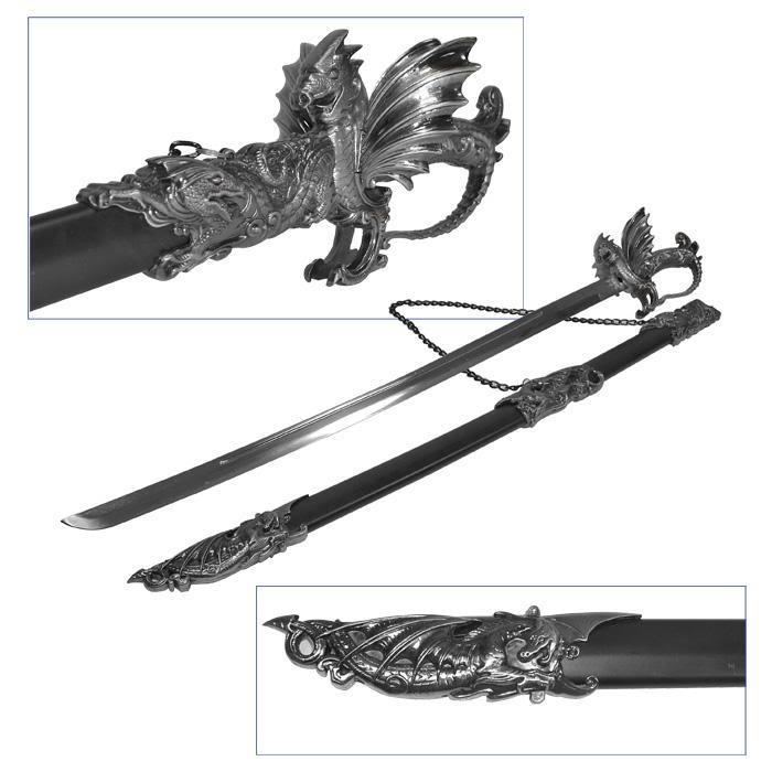 Red other sword OrnateMedievalDragonSword