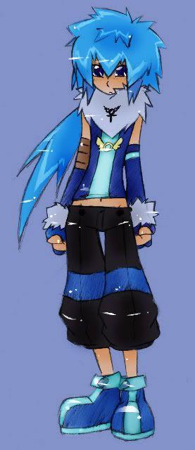 mes dédéssins-choux Blue