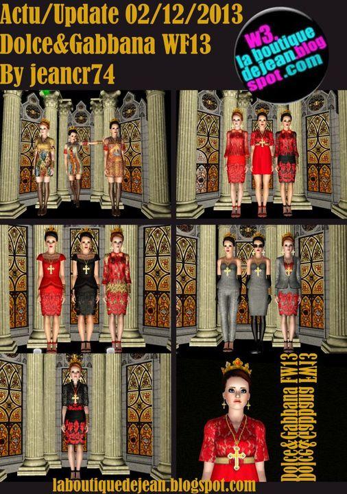 Las casas de jean  www.lascasasdejean.blogspot.com - Página 5 Posterdolcefw13dolce