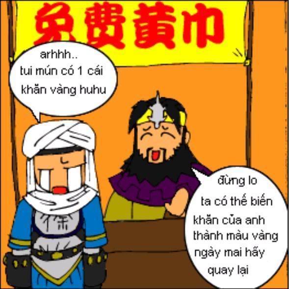 Tam Quốc Diễn Nghĩa truyện tranh hài 10