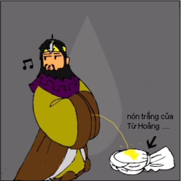 Tam Quốc Diễn Nghĩa truyện tranh hài 11