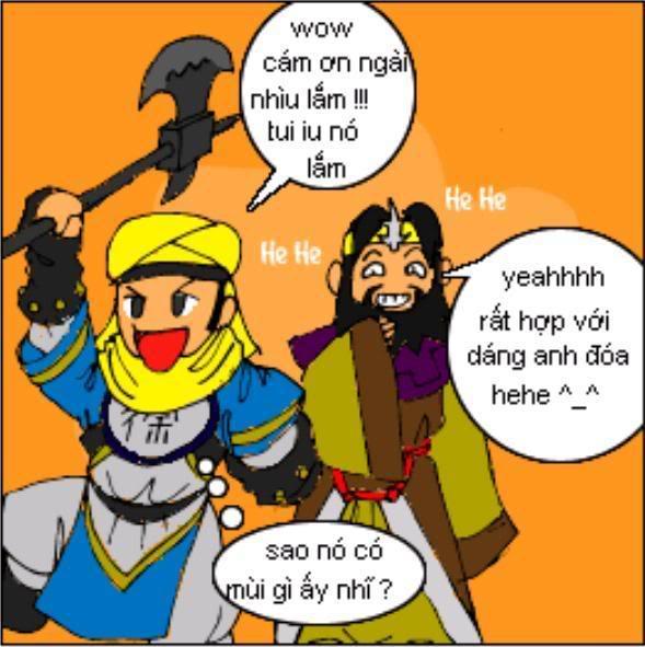 Tam Quốc Diễn Nghĩa truyện tranh hài 12