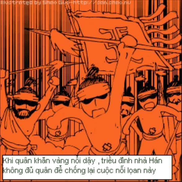Tam Quốc Diễn Nghĩa truyện tranh hài 13-1