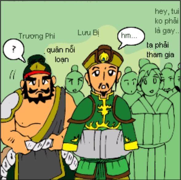 Tam Quốc Diễn Nghĩa truyện tranh hài 15