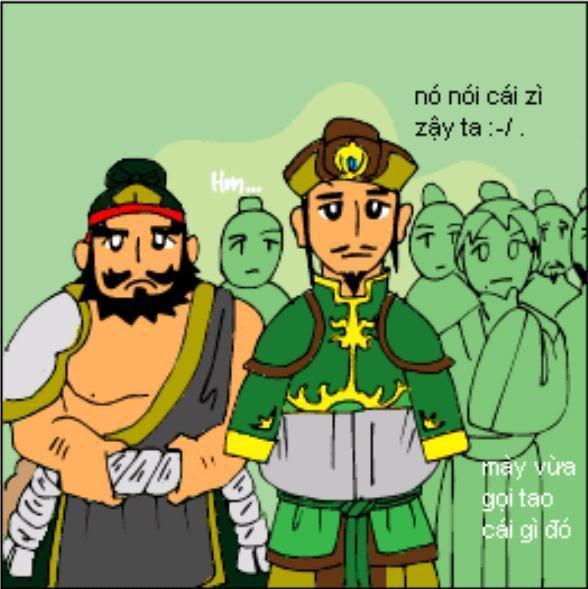 Tam Quốc Diễn Nghĩa truyện tranh hài 16