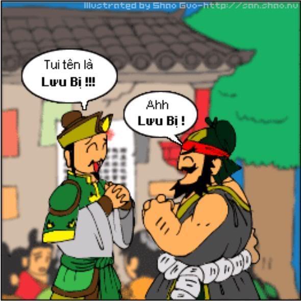 Tam Quốc Diễn Nghĩa truyện tranh hài 18