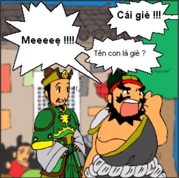 Tam Quốc Diễn Nghĩa truyện tranh hài 20