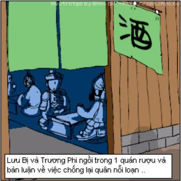 Tam Quốc Diễn Nghĩa truyện tranh hài 23