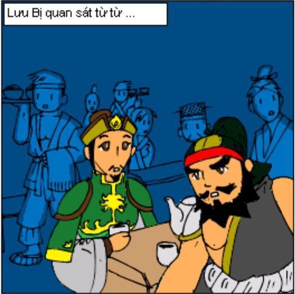 Tam Quốc Diễn Nghĩa truyện tranh hài 25