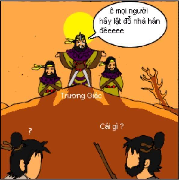 Tam Quốc Diễn Nghĩa truyện tranh hài 4-2