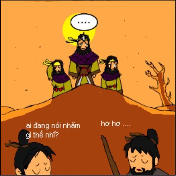 Tam Quốc Diễn Nghĩa truyện tranh hài 5-2