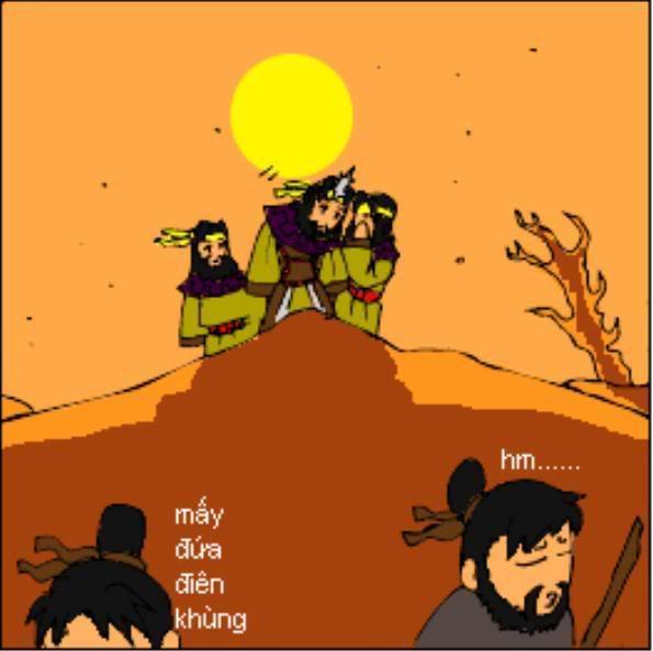 Tam Quốc Diễn Nghĩa truyện tranh hài 6-2