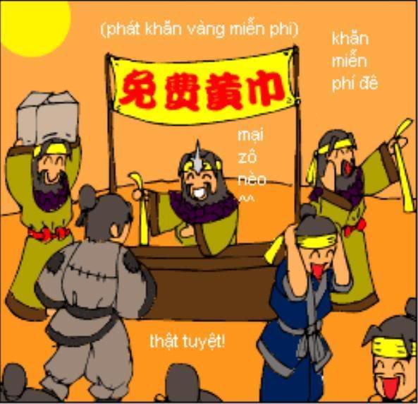 Tam Quốc Diễn Nghĩa truyện tranh hài 7-1