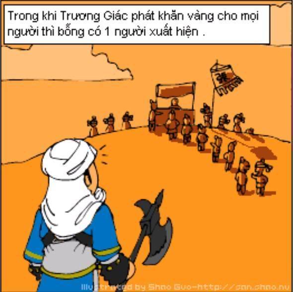 Tam Quốc Diễn Nghĩa truyện tranh hài 8