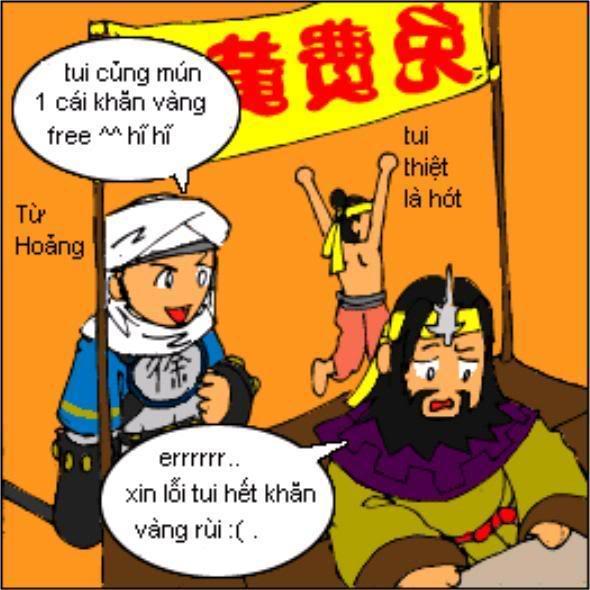 Tam Quốc Diễn Nghĩa truyện tranh hài 9