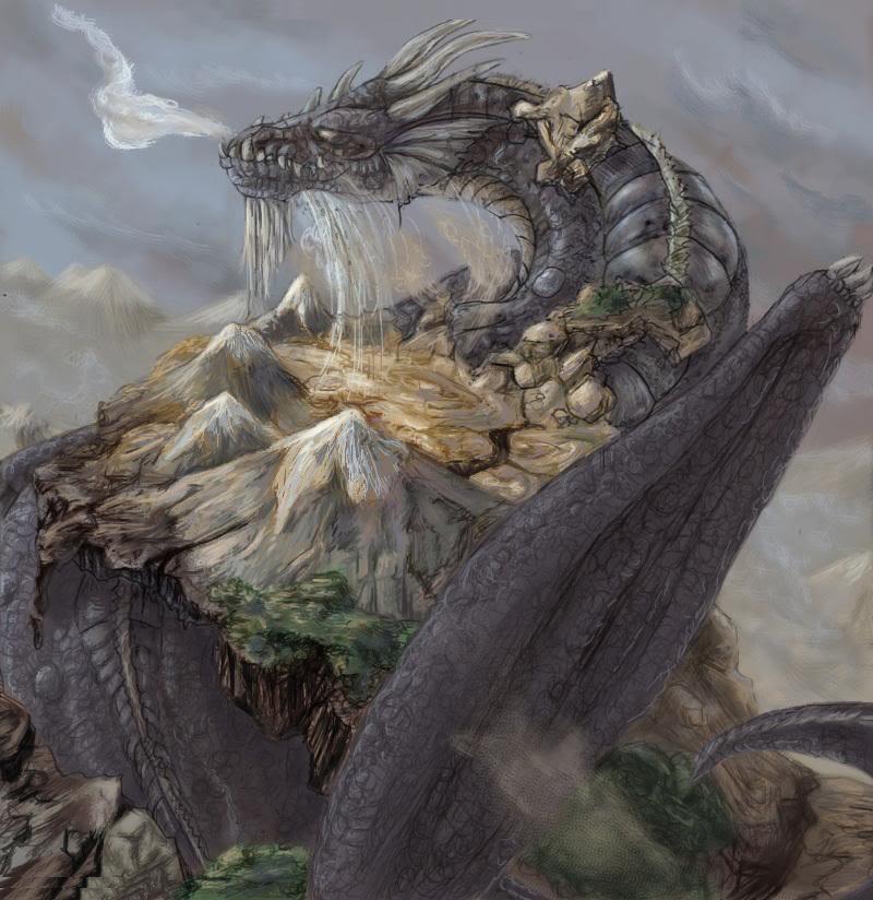 Zemes Pūķis ~ Kemens __Earth_Dragon__