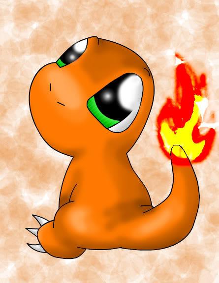 Nhận tìm , post hình Wallpaper pokemon , pokemon Charmander_Baby_by_GriffinWind