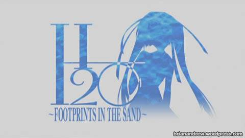 H2O Footprints In The Sand H20san0101