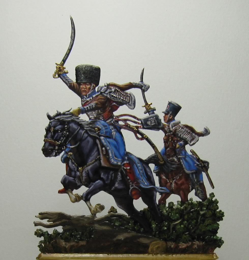 Charge de Chamborand Hussard vers 1805 Chargedu2eacutemeHussard1805_zps6278e695