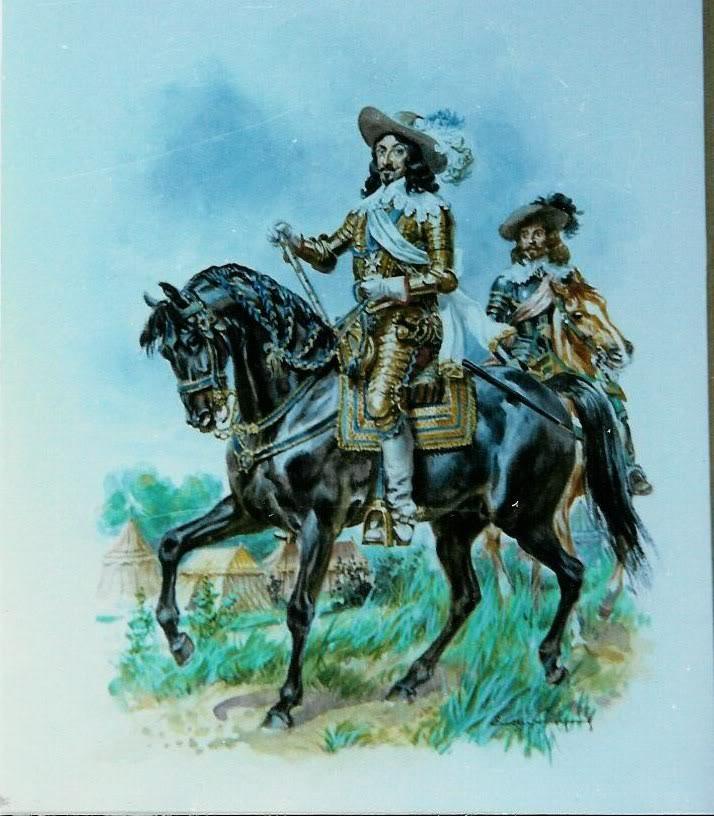 Petit Plat à l'huile ... Carabiniers 1812 LeliepvreBlackHorse