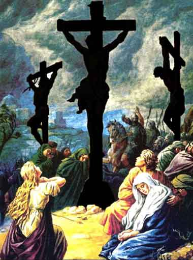 دعوى للرد : بابا الفاتيكان: اليهود لم يقتلوا المسيح  Crucifixion